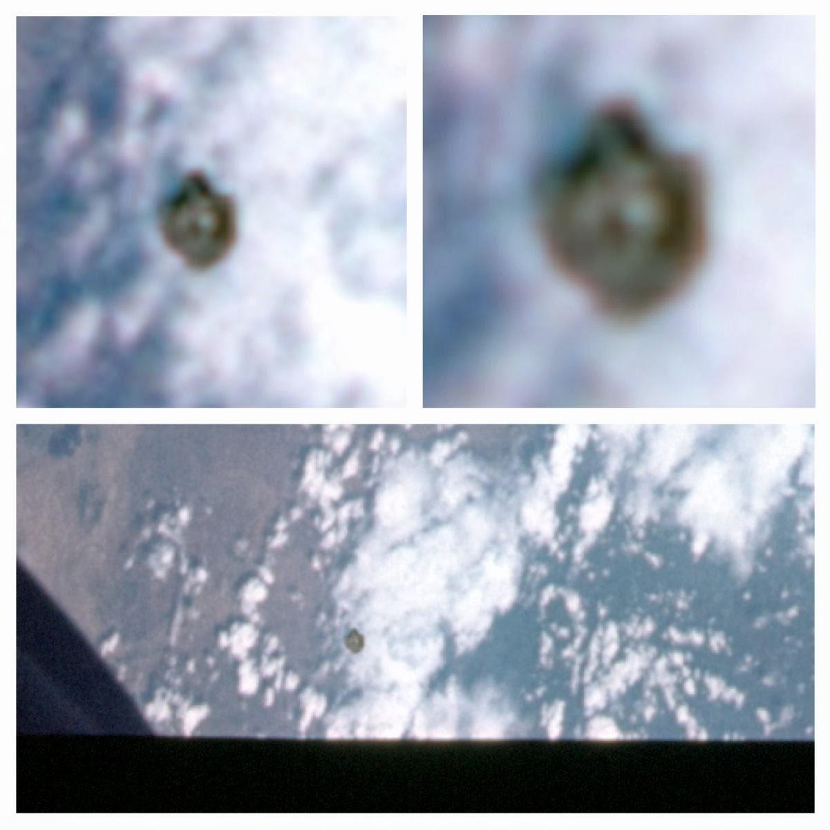 UFO Near Gemini 11 In Earths